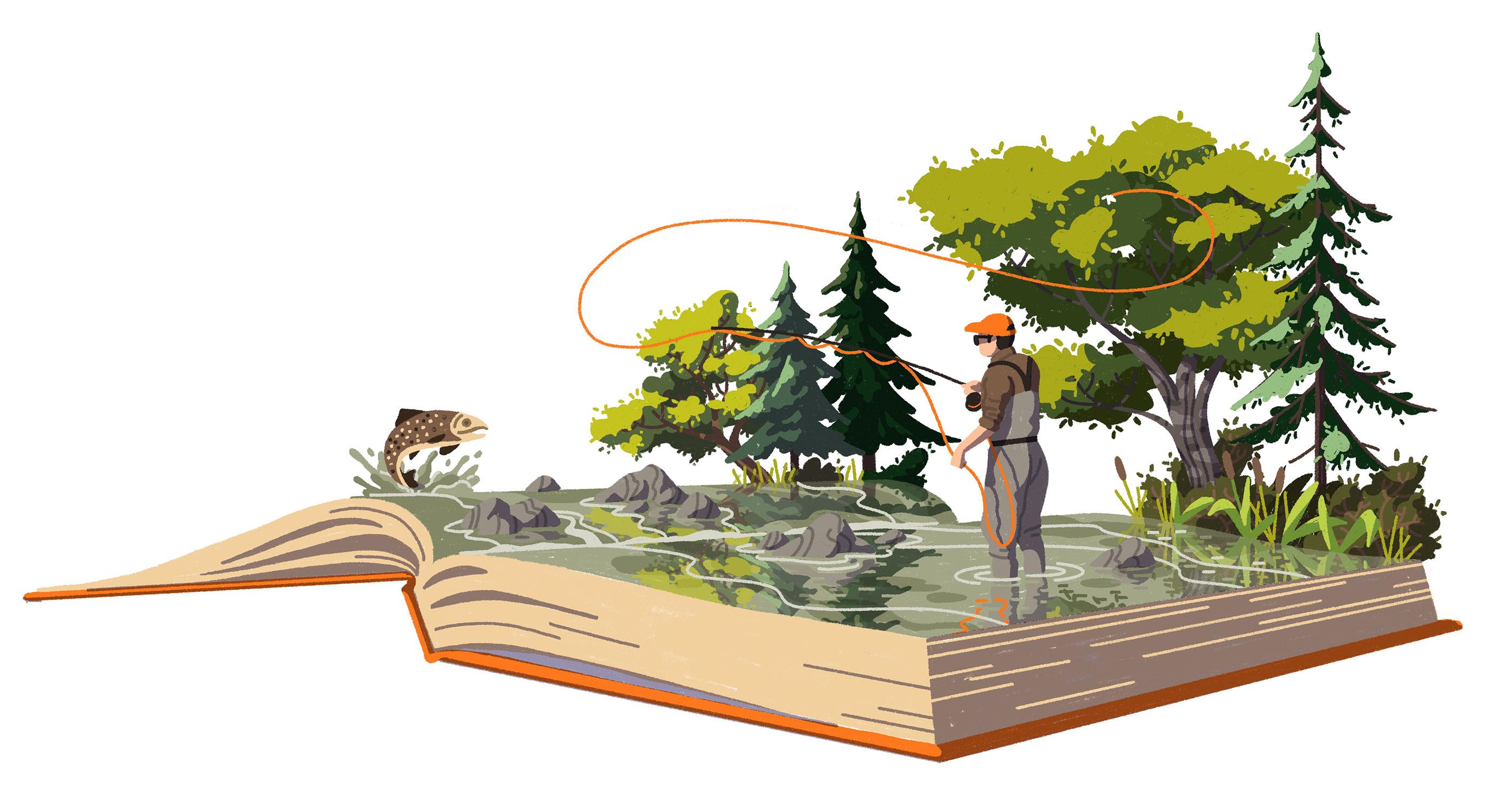 Fishing in Books